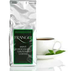 Frango Flavored Coffee, 12 oz. Chocolate Mint Flavored Coffee ($11) ❤ liked on Polyvore featuring no color
