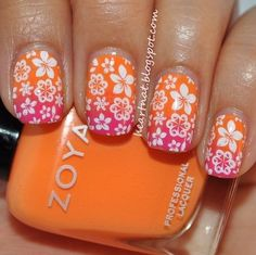 Bit of summer flavor!  See more nail inspirations on http://bellashoot.com!