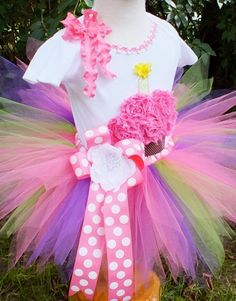tutu tops for teens | ... ribbon birthday tutu outfit includes the top, tutu & flower headband