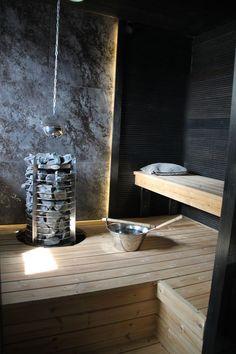 People have been enjoying the benefits of saunas for centuries. Spending just a short while relaxing in a sauna can help you destress, invigorate your skin Sauna Design, Home Gym Design, House Design, Garden Design, Jacuzzi, Modern Saunas, Sauna A Vapor, Piscina Spa, Sauna Seca