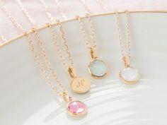 Personalised Bridesmaid Necklace