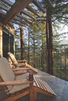 Big Sur, California What is Decoration? Decoration may be the art of decorating the inner and exterior of the building … Exterior Design, Interior And Exterior, Ideas Cabaña, Room Ideas, Cabins In The Woods, House Goals, Big Sur, Design Case, Home Deco