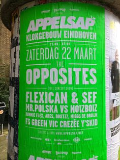 What kind of type's hanging in Amsterdam's streets?