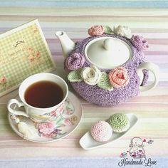 Crochet tea cozy                                                                                                                                                                                 More