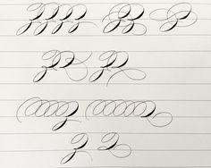 #BeatSpencerian challenge is back! Today exercise is very useful for capital stem practice, with two very easy letters Z and Q.  1. Make drills to warm up your hand in about 10-15 mins.  2. Dip your pen fully with black ink.  3. Try to make each sample by one stroke. Move your arm, don't move your wrist.  4. If you find them too hard, analyze by pencil first. Be careful with oval structure.  Have fun!!! ✌️ #huyhoangdao #calligraphy #penmanship #handwriting #spencerian #practice #exercise Copperplate Calligraphy, Calligraphy Letters, Penmanship, Caligraphy, Improve Your Handwriting, Handwriting Practice, Remembrance Tattoos, Alphabet Code, Handwriting Analysis