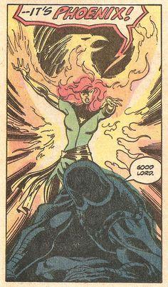 the-spinner-rack: It's Phoenix! (by John Byrne & Terry...