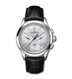 Jaeger-LeCoultre Master Chronograph (1538420): $10,600 (MSRP), 40 mm x 11.7 mm, steel