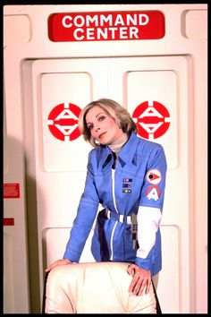 Publicity Stills For Space: 1999, Year 2:  Barbara Bain in costume as Dr. Helena Russell, MD. - Retronaut