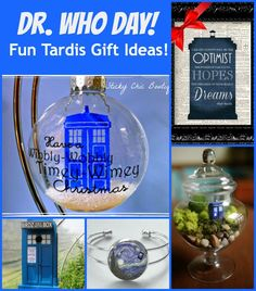 Dr Who Day fun gift ideas!  Great mix of fun gifts!