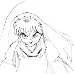 Inuyasha Coloring Pages Anime