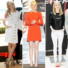 As The Amazing Spider-Man Excitement Ramps Up, So Does Emma Stone's World Tour Style - www.fabsugar.com