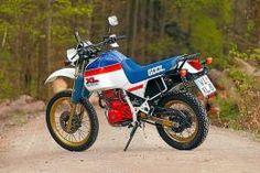 Honda XL 600 LM (1985 - 1987) - Vergleichstest - Honda XL 600 LM ...