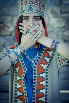 Clothing based on the costume and motifs of the Armenian Kingdom of Ararat-Van. (Urartu)