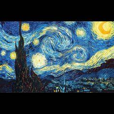 Vincent van Gogh The Starry Night art painting for sale; Shop your favorite Vincent van Gogh The Starry Night painting on canvas or frame at discount price. Gogh The Starry Night, Starry Nights, Stary Night Van Gogh, Starry Night Original, Vintage Illustration, Landscape Illustration, Watercolor Illustration, Graphic Illustration, Graphic Art