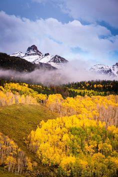 Ridgeway Colorado Fall Colors