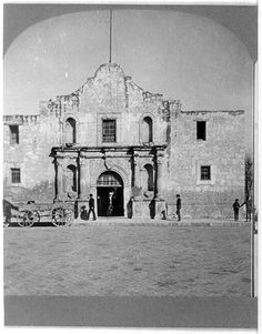 On February 24, 1836, Colonel William Travis issues a call for help on behalf of the Texan troops defending the Alamo.