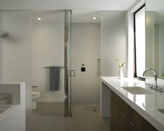 houzz - modern architecture - cary bernstein architect - liberty street residence - san francisco - california - interior view - bathroom