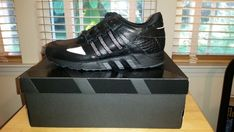 sale retailer 2450b eadeb adidas EQT 93  PUSHA T  BLACK MARKET  KING PUSH STYLE AQ7433  SIZE  10.5 fashion clothing shoes accessories mensshoes athleticshoes (ebay  link)
