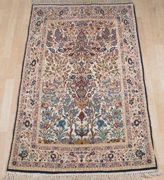 Schuler Auktionen Zürich  |   Isfahan Z-Iran, um 1960  104x175 cm (ft. 3.4x5.8).
