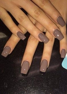 Fall nail colors Beauty and Personal Care - Makeup - Nails - Nail Art - winter nails colors - Gorgeous Nails, Love Nails, Pretty Nails, Cute Nails For Fall, Simple Fall Nails, Colorful Nail Designs, Fall Nail Designs, Brown Nail Designs, Fall Nail Ideas Gel