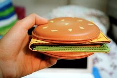 hamburger wallet. This is only really cool. No big deal.