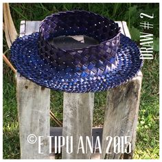 Hand woven by julz and em @ E Tipu Ana out of New Zealand harakeke (flax) Flax Weaving, Hand Weaving, Kite, Sun Hats, Making Ideas, New Zealand, Cowboy Hats, Baskets, How To Make Money