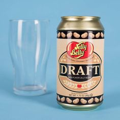 Beer Flavoured Jelly Beans in a Beer Can! Well a real beer would be nice but while at work the beans will have to do! Stocking Fillers For Men, Present Finder, Jelly Bean Flavors, Draught Beer, Beer Gifts, Jelly Belly, Ben And Jerrys Ice Cream, Easter Treats, Beer Lovers