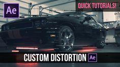 Quick Tutorials! Custom Glitch Distortion in After Effects