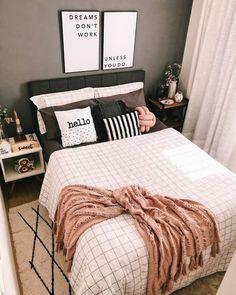 Bedroom Inspo, Home Bedroom, Diy Room Decor, Bedroom Decor, Home Decor, New Room, Bed Pillows, Pillow Cases, Interior Design
