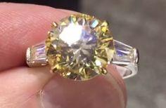 Yellow Diamond Rings, Diamonds, Engagement Rings, Pearls, Crystals, Jewelry, Enagement Rings, Wedding Rings, Jewlery