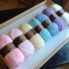 Stylecraft Special Dk from My Craft Life - lovely subtle pastels