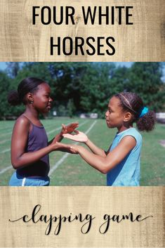 Directions on how to play the clapping game Four White Horses in your elementary music classes. Plus, ideas for teaching syncopation, tempo, and meter using the clapping game. Singing Games, Singing Lessons, Music Lessons, Music Games, Singing Tips, Piano Lessons, Music Music, Learn Singing, Rhythm Games