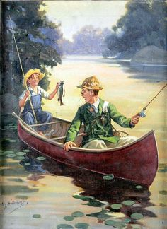Outfishing The Expert -- Henry Hintermeister (1897 – 1972)