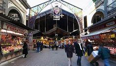 Un sitio para visitar en el centro de Barcelona. El mercado de la Boquería.