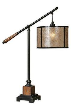 Uttermost 'Sitka' Lantern Table Lamp - Black