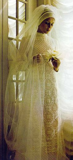 Gown for a winter wedding. #Russian #weddings