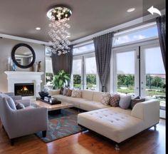 Find this Pin and more on D R E A M H O M E Contemporary Living Room