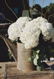 watering can full of hydrangeas - Google Search