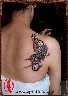 impressive #butterfly #tattoo