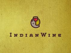 Indian wine: Clever play on a wine glass fusing with an elephant - designed by Srdjan Kirtic, Serbia