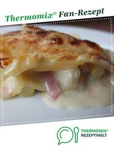 Spargellasagne von Schirmle. Ein Thermomix ® Rezept aus der Kategorie Hauptgerichte mit Gemüse auf www.rezeptwelt.de, der Thermomix ® Community.