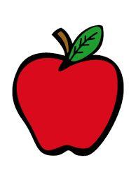 Resultado de imagen para manzana animada para colorear