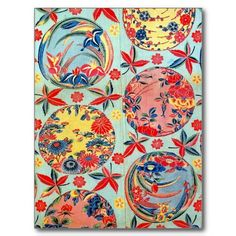 bingata | vintage Japanese Kimono textile