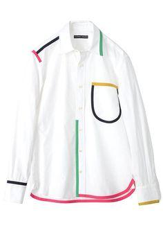 How to wear white shirt ideas simple 56 Ideas Fashion Details, Fashion Design, Mode Inspiration, Japanese Fashion, Diy Clothes, Shirt Blouses, Casual, Shirt Designs, Menswear