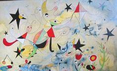 "Saatchi Online Artist Laura Zilocchi; Painting, ""Omaggio a Mirò"" #art"