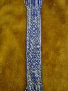 Lesezeichen 3, handgewebt, Brettchenborte, tablet card weaving   eBay tablet woven by mellon-onlineshop