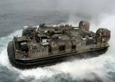 Landing Craft, Air Cushion.  LCAC 27 from my old unit in Little Creek, VA.