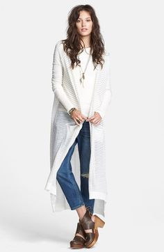 Free Spirit Long Striped Cardigan | free people spring summer ...