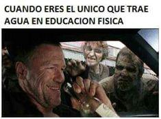 memes de The walking dead Funny Spanish Memes, Funny Jokes, Funny Images, Funny Pictures, Twd Memes, Mexican Memes, Walking Dead Memes, Book Memes, Haha