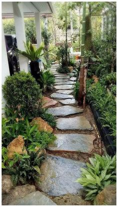 80 Beauty Garden Paths And Walkways Ideas To Increase Your Garden Beauty : solne. : 80 Beauty Garden Paths And Walkways Ideas To Increase Your Garden Beauty : solne… 80 Beauty Garden Paths And Walkways , Front Yard Landscaping, Landscaping Ideas, Outdoor Landscaping, Acreage Landscaping, Inexpensive Landscaping, Garden Paths, Side Garden, Garden Bar, Garden Cottage